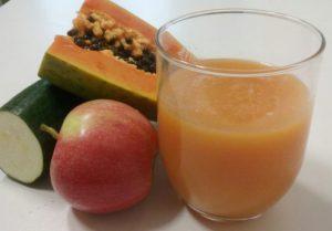 batido-de-papaya-calabacin-y-manzana