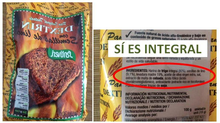 C mo identificar productos integrales dra teresa lajo - Las mejores marcas de sofas ...