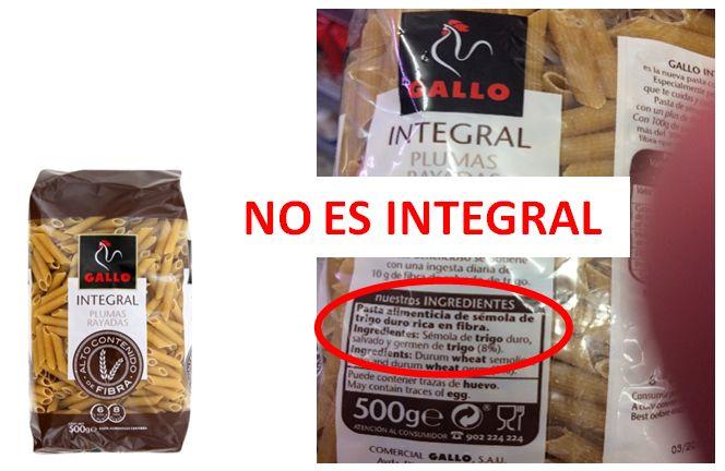 ¿Cómo identificar productos INTEGRALES? - Dra. Teresa Lajo